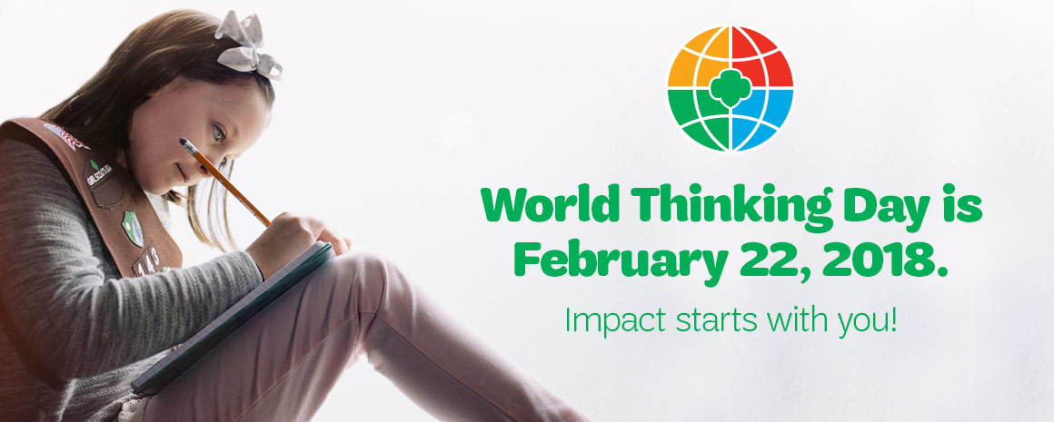 World Thinking Day is February 22, 2018
