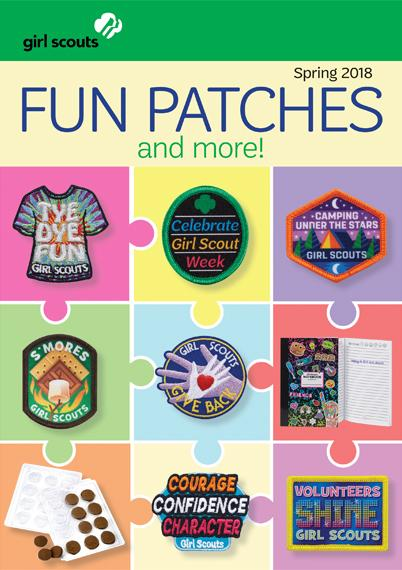 2018 Spring Fun Patches and more!