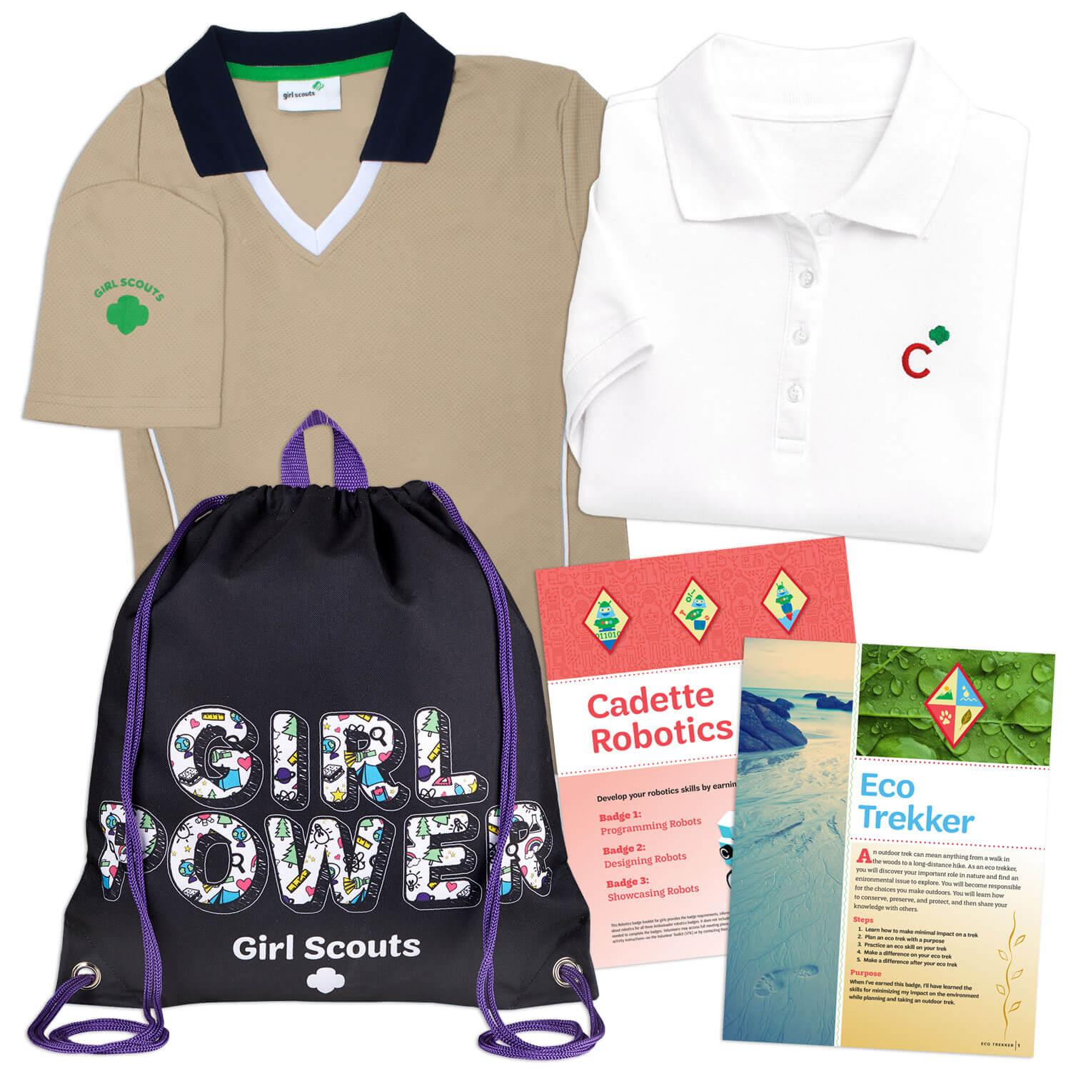 Girl Scout Cadette Kit