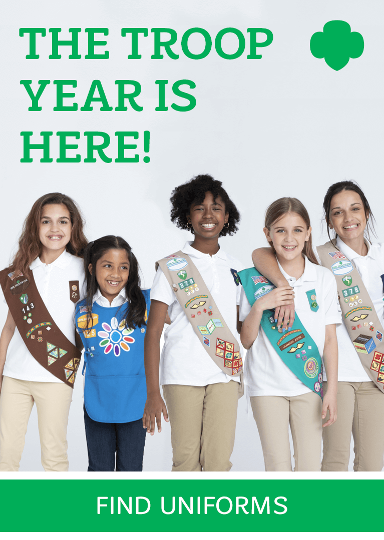 Official Girl Scout Shop - Girl Scout Uniforms, Program