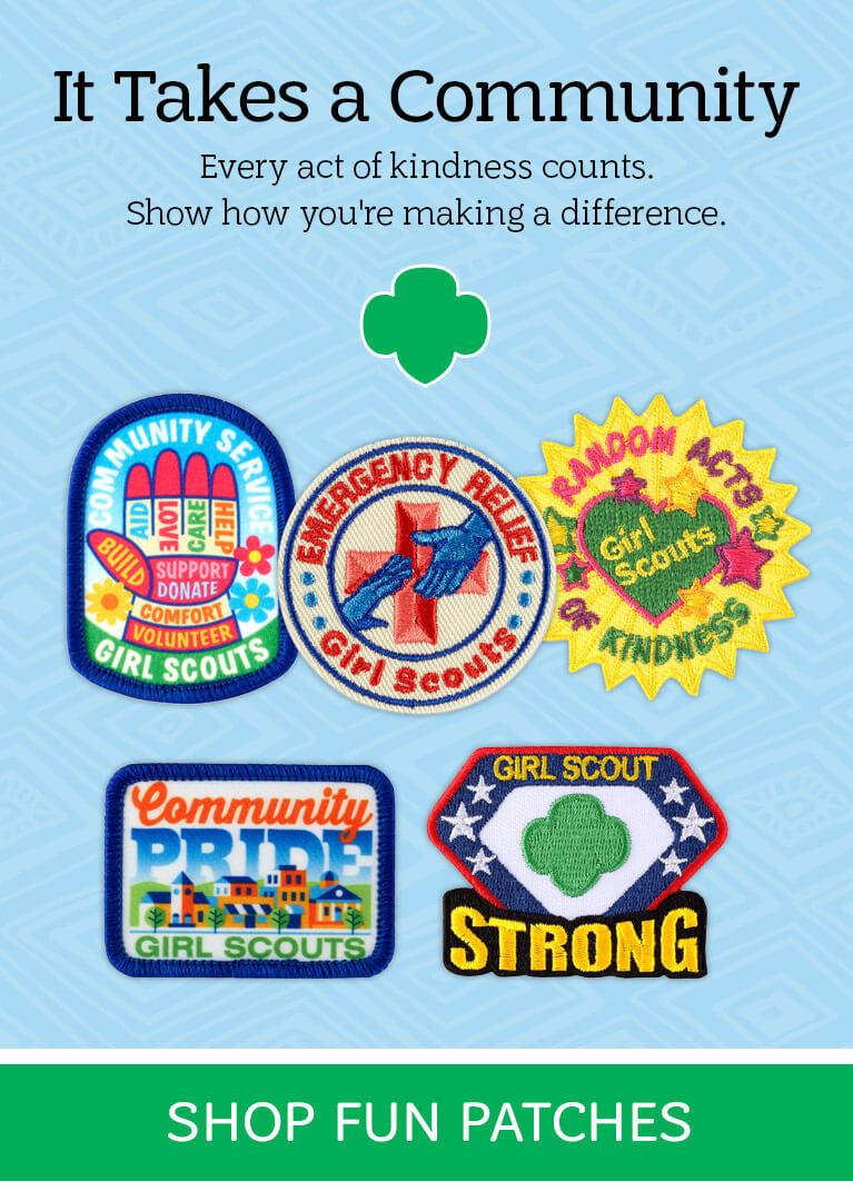 The Official GIRL SCOUTS OF AMERICA Greater New York Daisy Council Id Set New