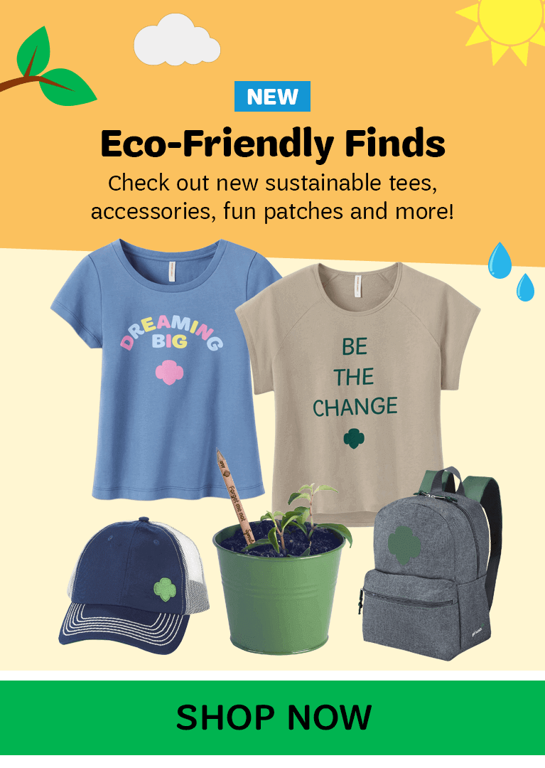 Girl Scout Eco Friendly Finds