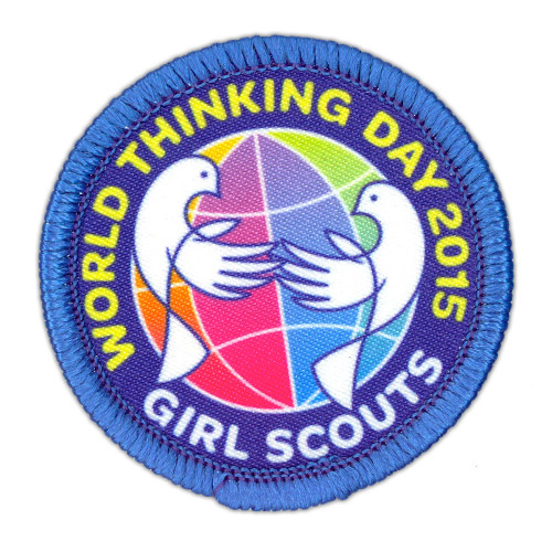 2015 Thinking Day patch