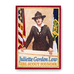 JULIETTE GORDON LOW COLLECTIBLE PATCH