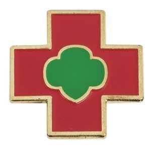 cadette safety award pin. Black Bedroom Furniture Sets. Home Design Ideas