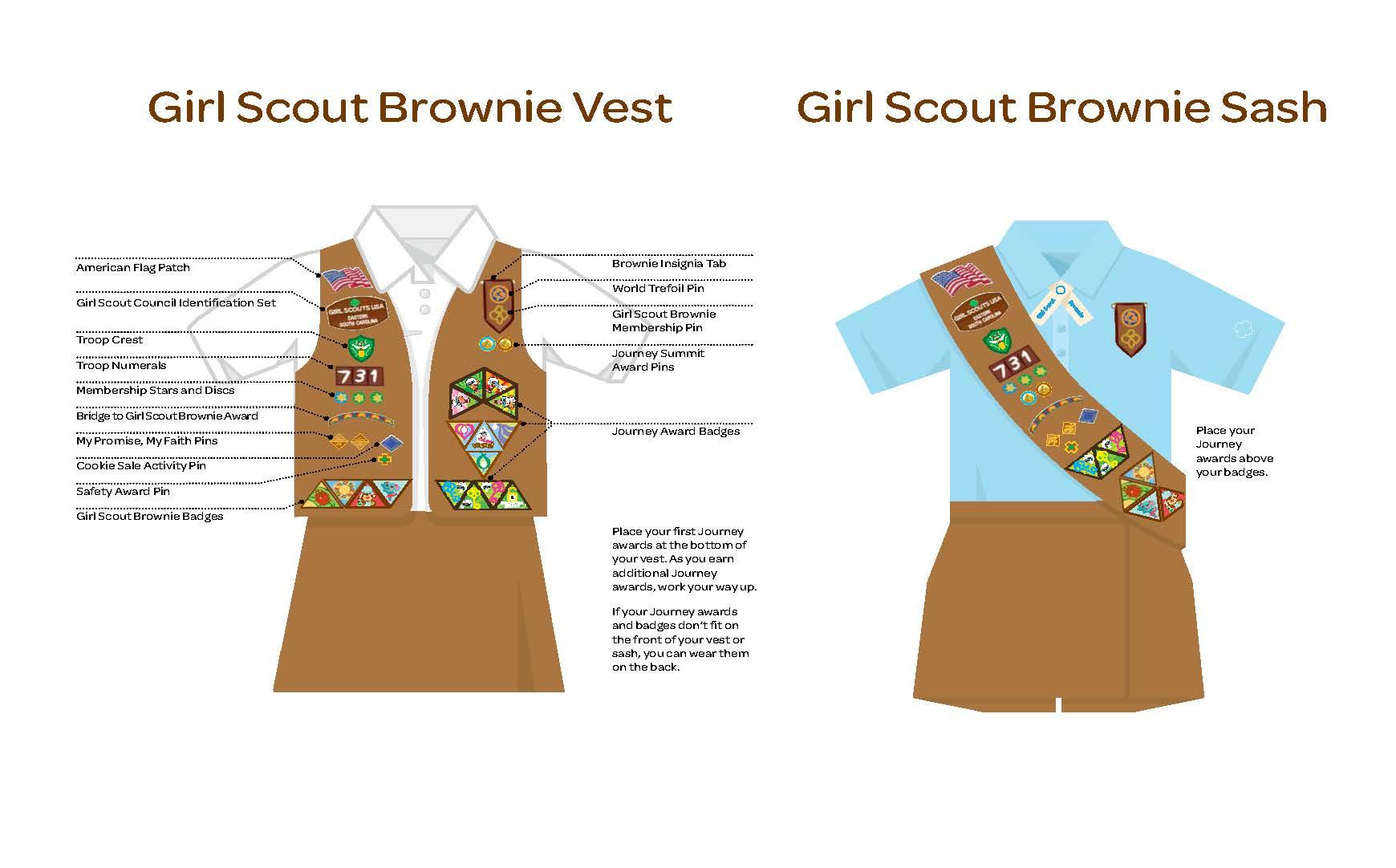 Image result for brownie uniform