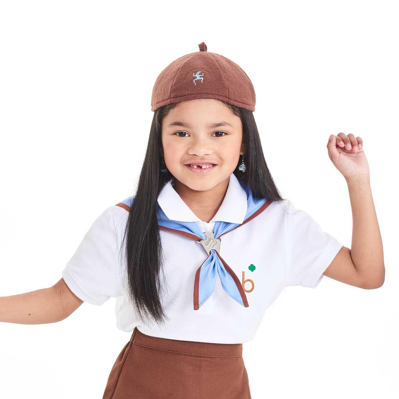 OFFICIAL DAISY GIRL SCOUT BEANIE MEDIUM