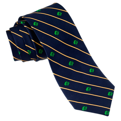 Men's Stripe Logo Tie