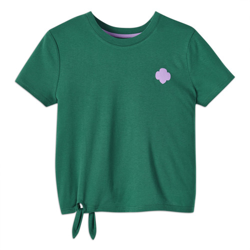 Side Tie Trefoil T-Shirt