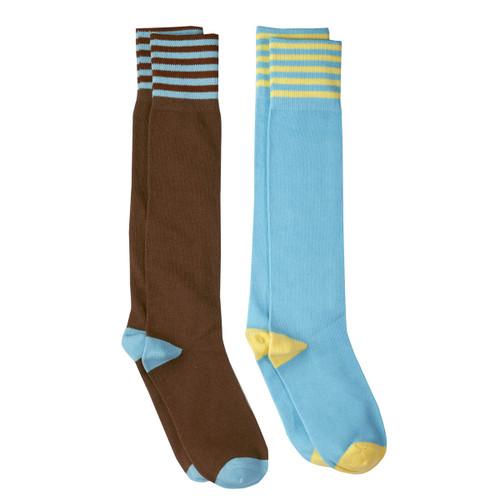 brownie knee high sock