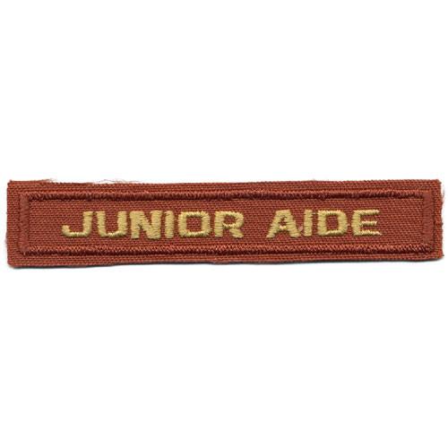 Junior Aide Award