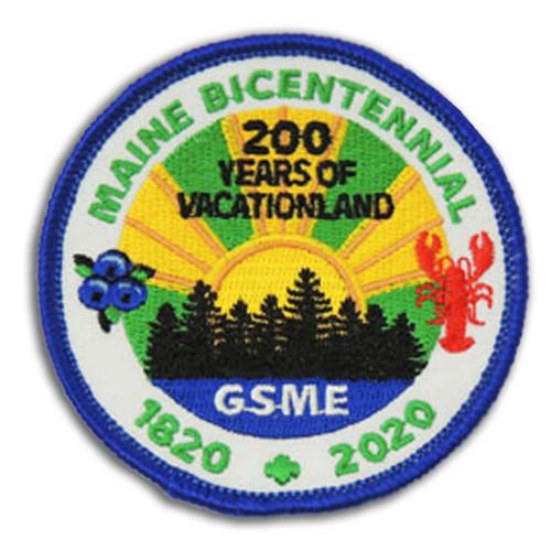 GSME Maine Bicentennial Patch Prog