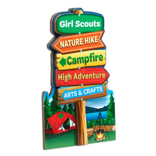 Camp Sign Magnet