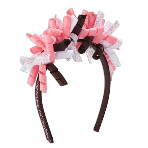 Brownie Ribbon Headband