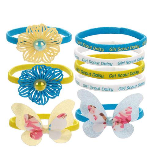 8-Piece Daisy Ponytail Set