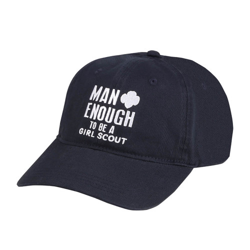Man Enough to Be a Girl Scout Cap
