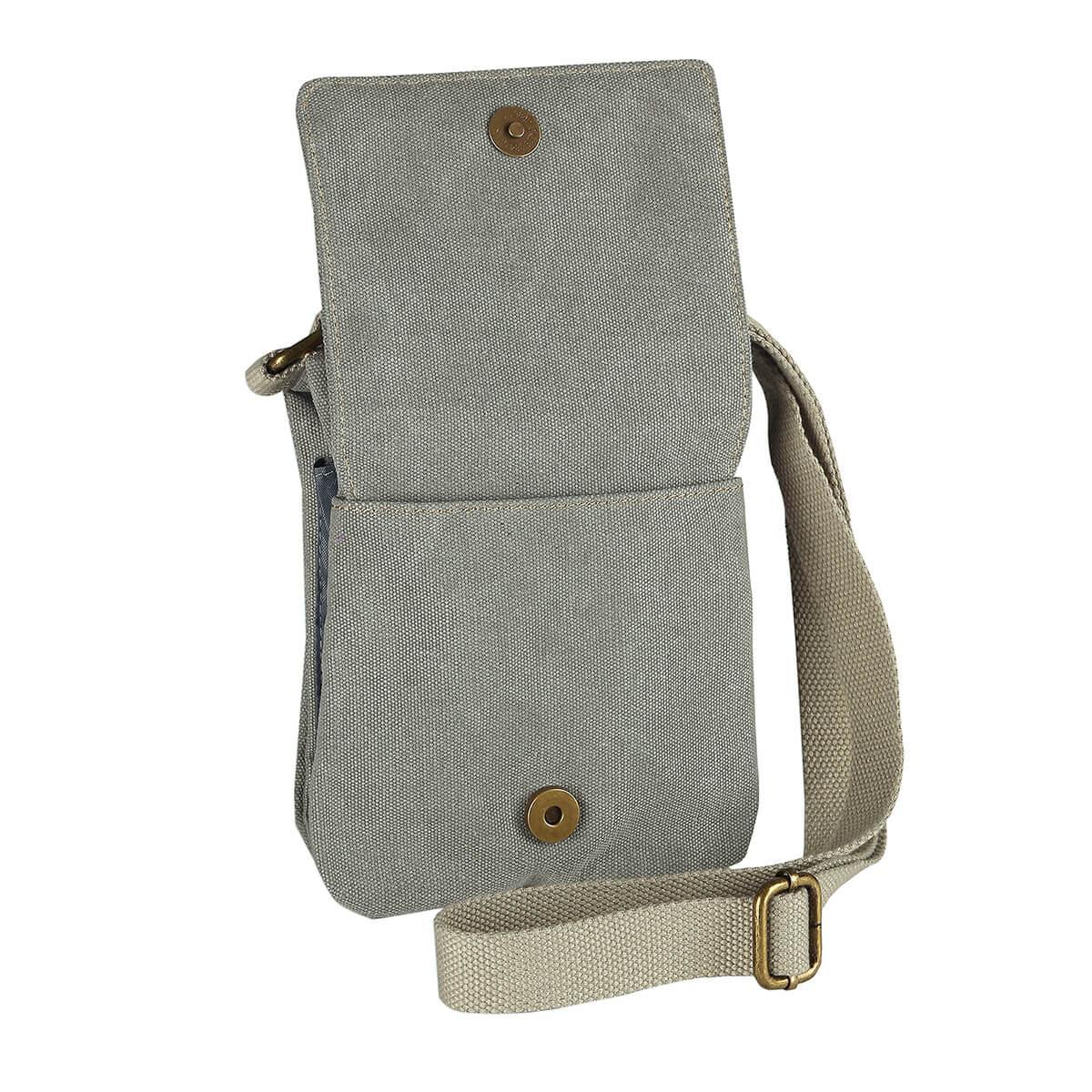 Canvas Crossbody Bag