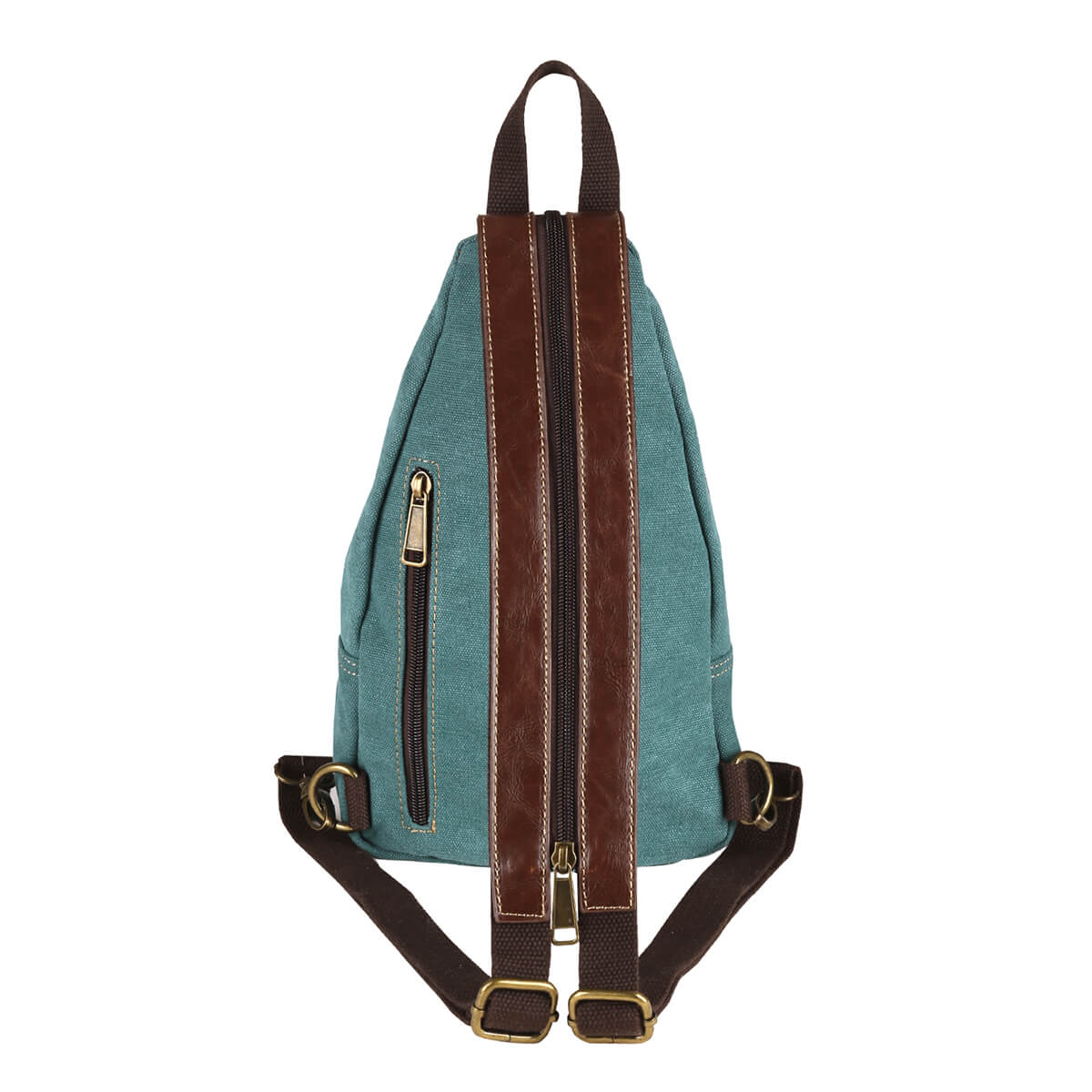 Convertible Canvas Sling Backpack