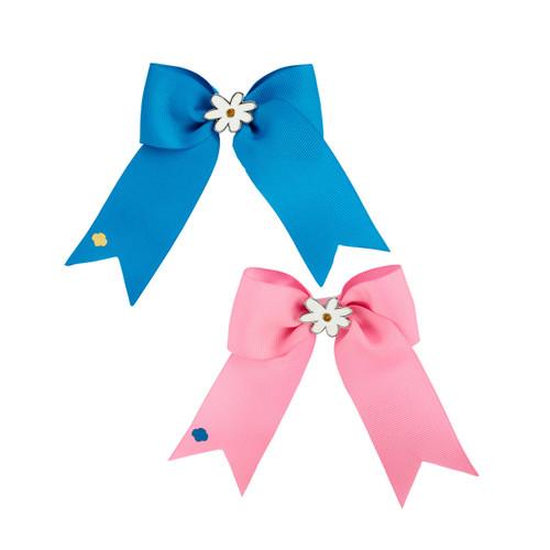 daisy grosgrain bow set