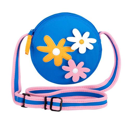daisy trio multicolor crossbody bag