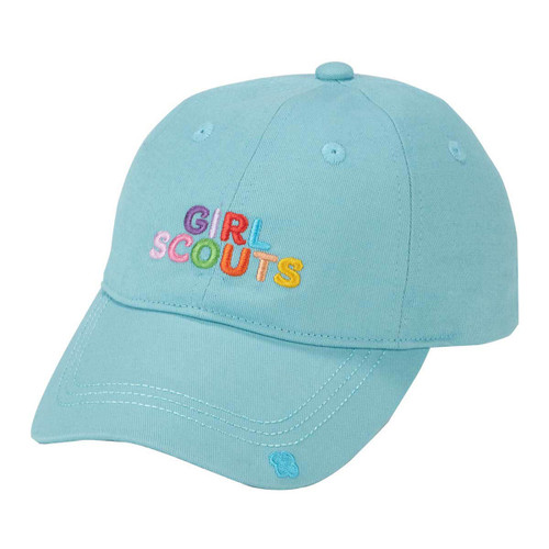girl scout recycled baseball cap