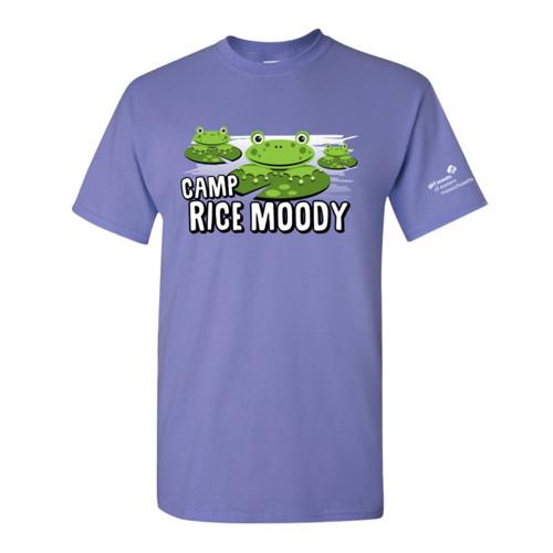 GSEMA Camp Rice Moody T-Shirt Iris