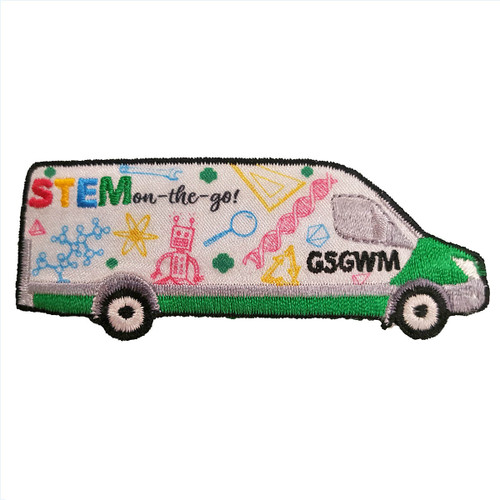 GSGWM STEM on-the-go Patch