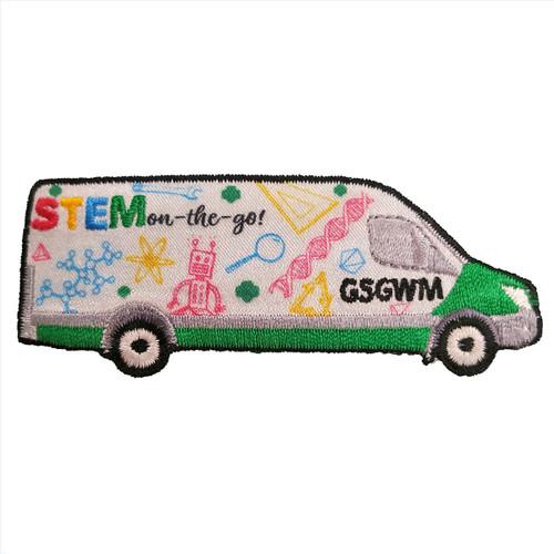GSGWM STEM on-the-go Patch