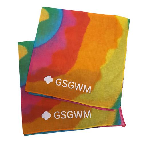 GSGWM Tie Dye Bandana