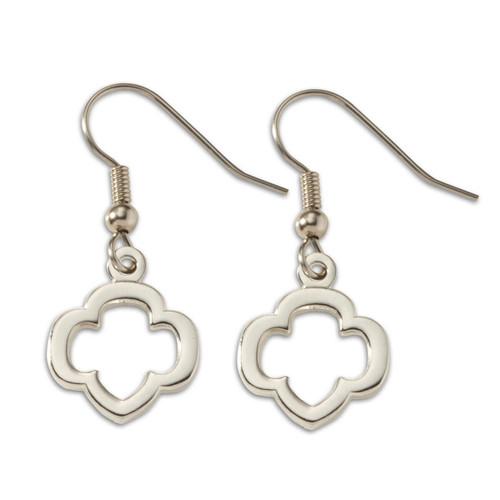 Open Trefoil Earrings