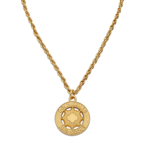 Gold Award Necklace