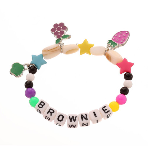 Brownie Beaded Bracelet