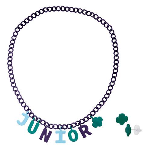 junior earring choker set