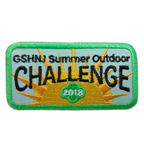 GSHNJ 2018 Summer Outdoor Challenge