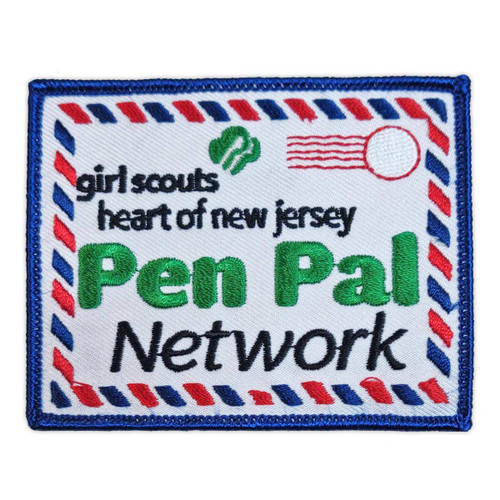 GSHNJ Pen Pal Network Patch