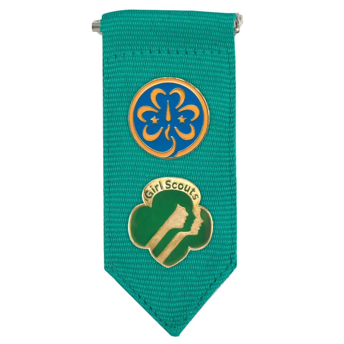 Girl Scout Junior Insignia Tab