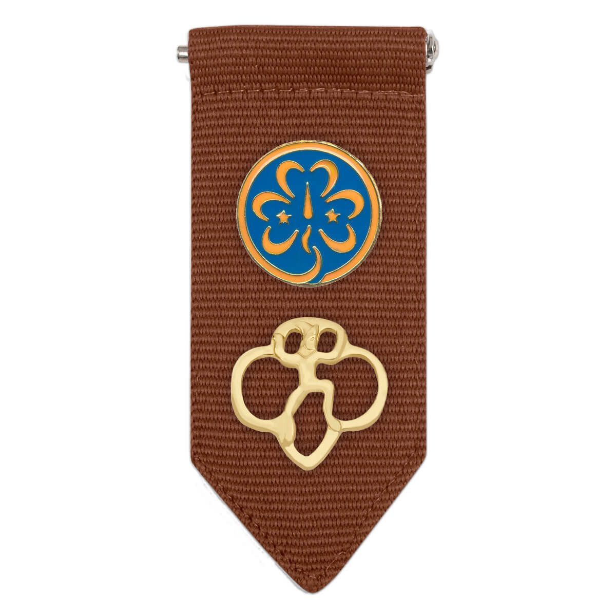 BROWNIE GIRL SCOUTS INSIGNIA TAB NEW
