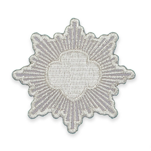 Silver Award Recognition Patch