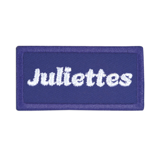 Juliettes Iron-On Patch