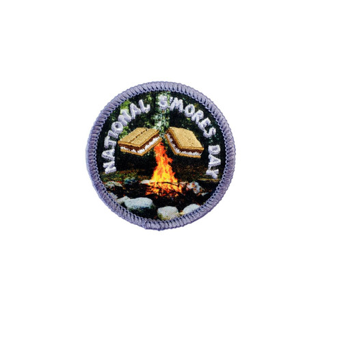 GSHH National S'mores Day Fun Patch