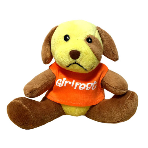 Girlfest Plush Dog