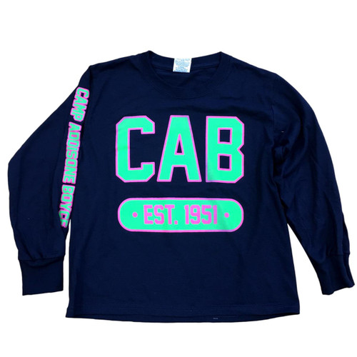 GSHH Navy Long Sleeve CAB Tee Shirt