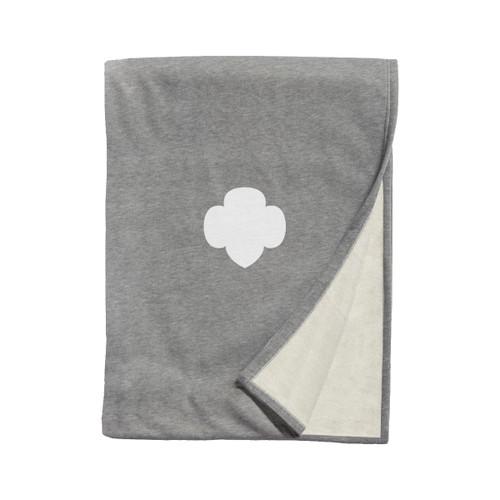 XL Trefoil Sweatshirt Blanket