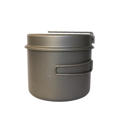 TOAKS Titanium 1600mL Pot Pan Set