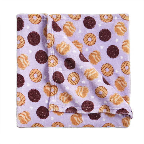 Girl Scout Cookies Plush Blanket