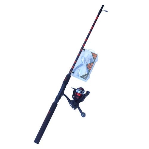 6' Fishing Red Combo Tackle Box