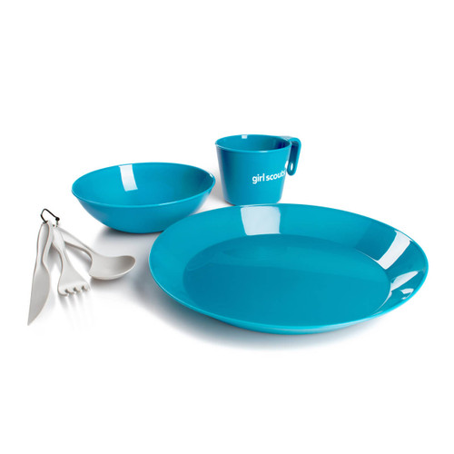 7-pc Cascadian Girl Scout Mess Kit