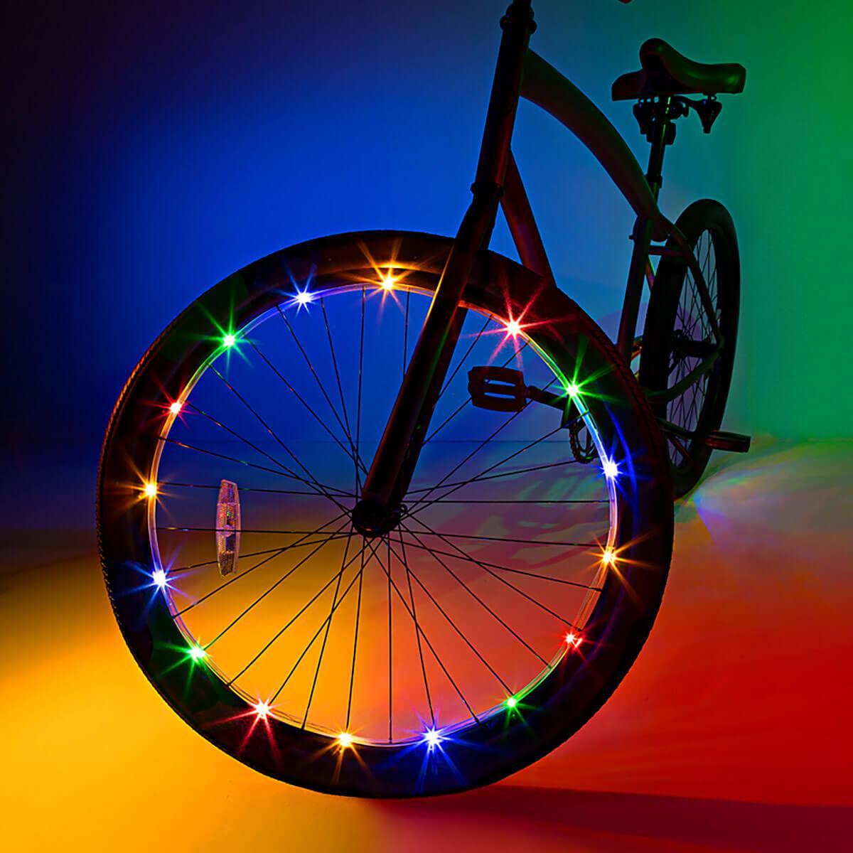 Custom Bike Wheel Light Kit