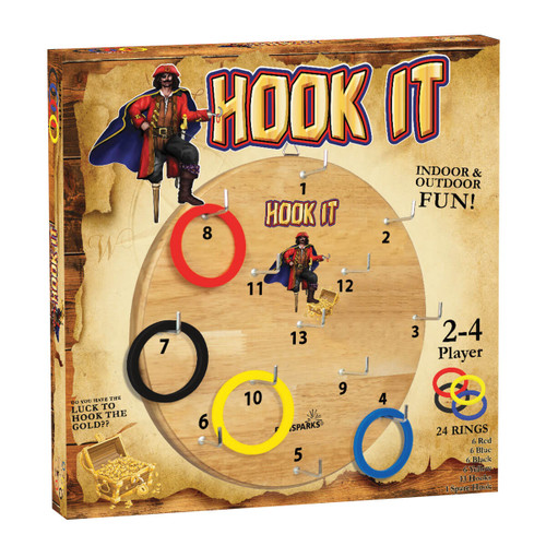 Hook It Ring Toss Game Set