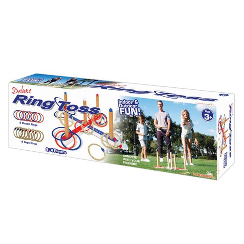 Ring Toss Deluxe Game Set